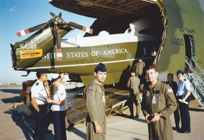 Presedential Airlift Support - 1988
